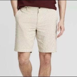 "Goodfellow & Co Men's 9"" Plaid Shorts"